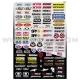 Planche Stickers - Micro Logos