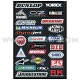 Planche Stickers - Streetbike Sponsor