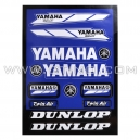 Planche Stickers A4 - YAMAHA