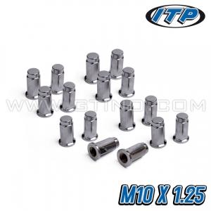 Pack de 16 écrous fermé / plat - ITP