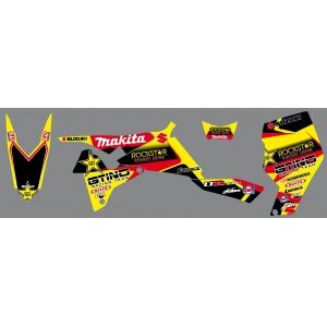 Kit déco MAKITA / ROCKSTAR  - LTR 450