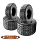 "Pack 4 pneus route : 10"" + 9"" MAXXIS"