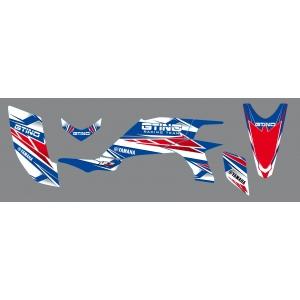 Kit déco RC12 GTINO - YFZ Raptor 450