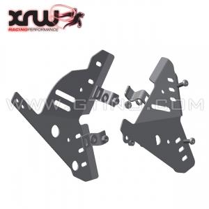 Protection de cadre alu XRW - TRX 450