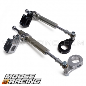 Amortisseur de direction 11 clics RB - Moose Racing