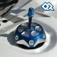 Bouchon de réservoir Aluminium Bleu - QuadRacing Product