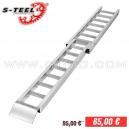 Ramp folding S-Teel 180cm - 180kg