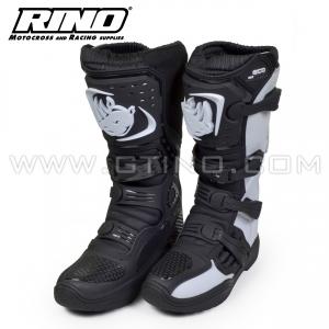 Rino ECO MX Bottes - BLANCHE