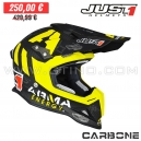 "Casque Cross J12 ""Arma Energy"" MATT CARBON - JUST1"
