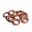 Rondelle de cuivre à l'unité