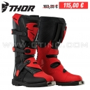 Bottes MX BLITZ BOOT (Black/Red) - THOR