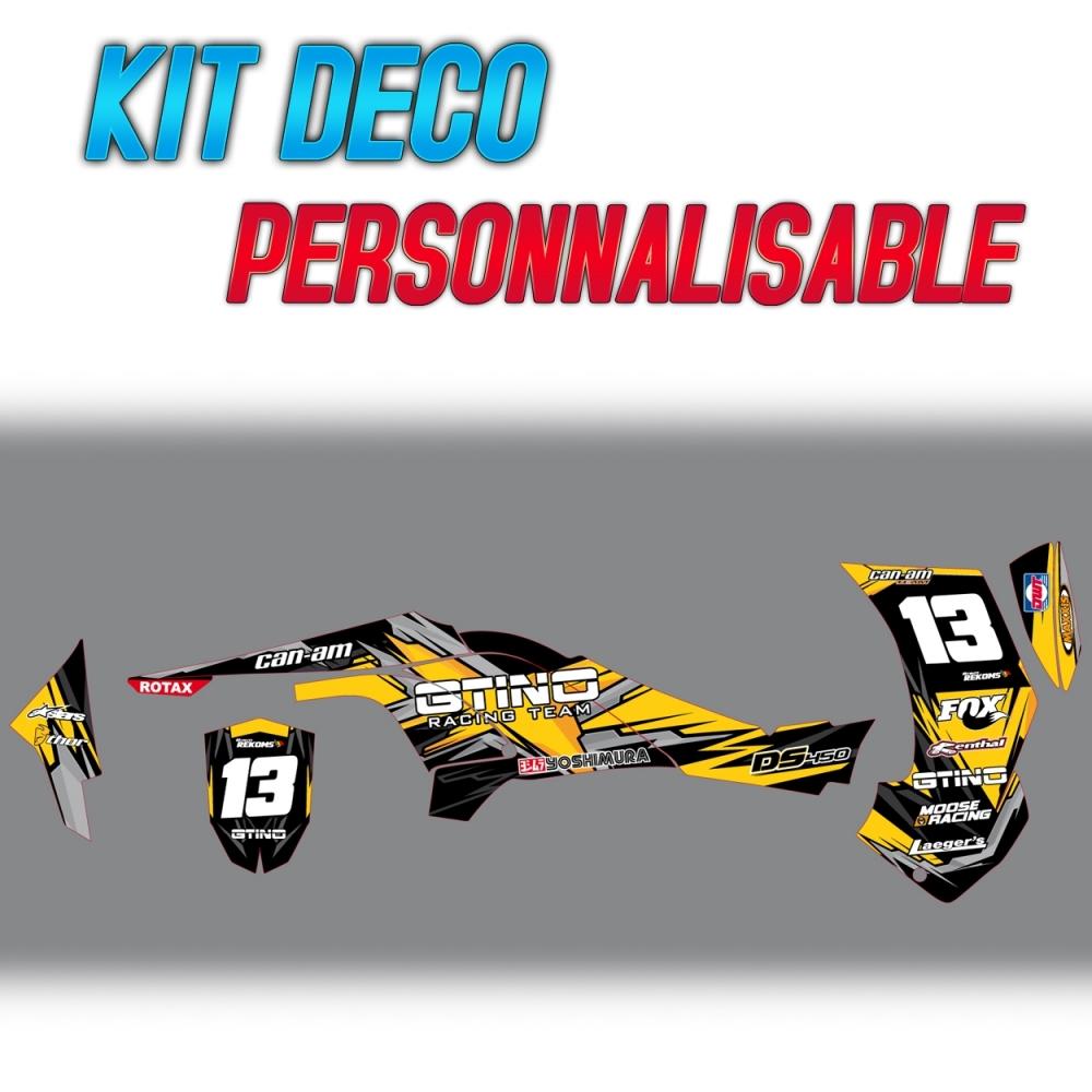 Kit déco complet GTINO pour quad CAN,AM DS 450