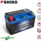 Batterie YTX7A-BS Lithium - SHIDO