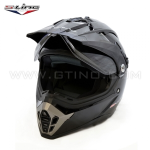 Casque Cross Dual Black by S-LINE