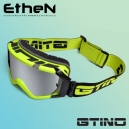 """Masque """"GTINO Black/Yellow"""" by Ethen"""