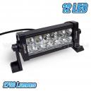 Rampe / Projecteur 12 LED - 2700 Lumens