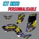 Kit déco BLACKSTAR - YFM Raptor 660