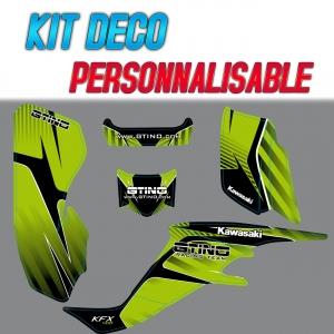 Kit déco GTINO - Kawasaki KFX 400