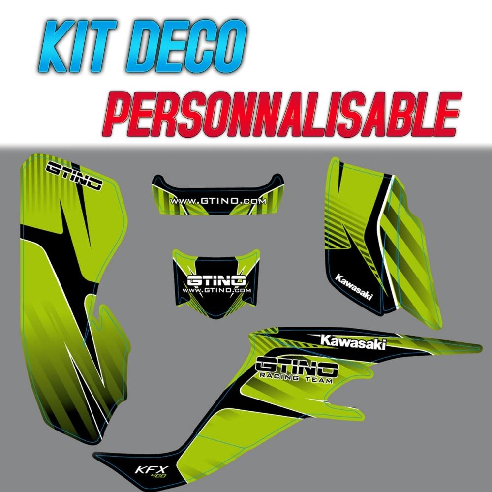 Kit Deco Gtino Kawasaki Kfx 400 Gtino