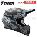 "Casque Cross THOR Sector Covert ""Midnight"""