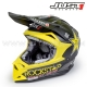 "Casque Cross J32 Mat ""ROCKSTAR"" - JUST1"