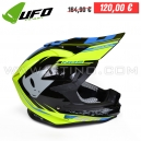 "Casque ONYX ""NOS"" BLUE/YELLOW - UFO"