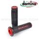 Poignée Domino Bicolor - Black/Red
