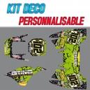 "Kit déco ""DESERT 2"" - RST Racing"