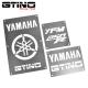 Pack Warning Labels Inox - YFM 250