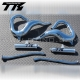 T5 RACING PIPE SET CHROME - BANSHEE