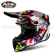"Casque Cross ""TWIST"" Crazy - AIROH"