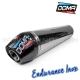 Silencieux Inox/Carbone Endurance DOMA - YFZ 450R