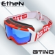 "Masque ""GTINO Red/White"" by Ethen"