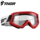 Masque COMBAT Red/Black - THOR