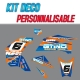 "Kit déco ""TROY LEE"" - KTM 450"