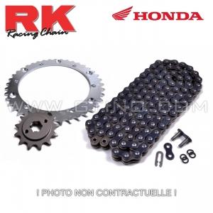 Kit pignon chaine - TRX 400