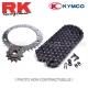 Kit pignon chaine - MXU / KXR 250