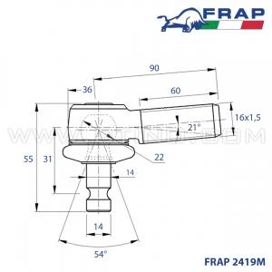 Rotule FRAP - 2419M