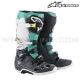 "Bottes TECH 7 ""Dark Gray Teal White"" - ALPINESTAR"