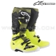 "Bottes TECH 7 ""Yellow Fluo Military Green Black"" - ALPINESTAR"