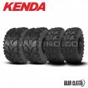 Pack 4 pneus KENDA BEAR CLAW : 25x8-12 + 25x10-12