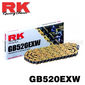 Chaine RK 520 X'ring - EXW GOLD